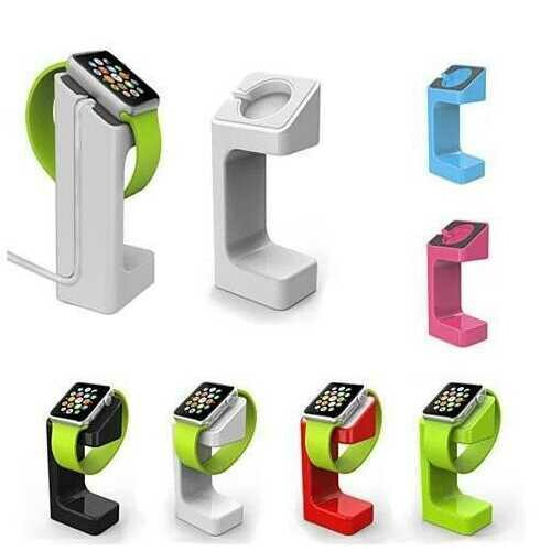iWatch Charging Dock and Protection Bundle -Size: iWatch - 38mm, Color: White