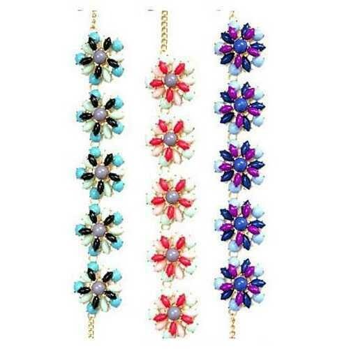 Confetti Celebrate With Colorful Necklace - Color: Aqua Torquoise
