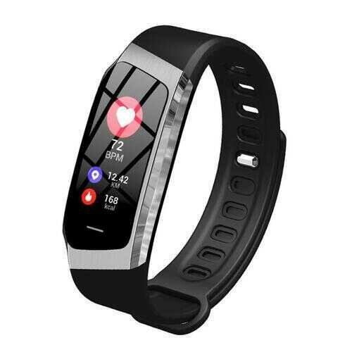 Urban Smart Watch And Wellness Tracker - Color: BLACK-Silver