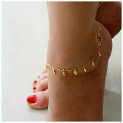 Leaflet Anklet