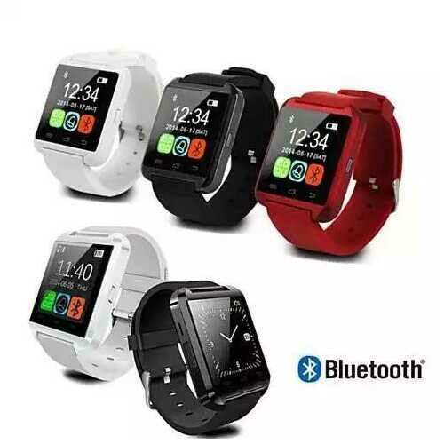 Smart Messenger Watch for Smart hands -Color: Red, Model: Android System