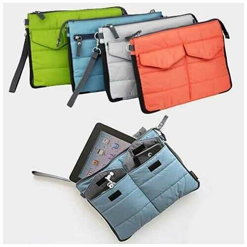 GO GO Gadget Pouch Insert ORGANIZE AND SWITCH - Color: Blue Sapphire