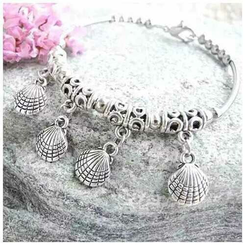 JOYOUS Natural Charm Stackable Bracelets - Style: Beautiful Seashells