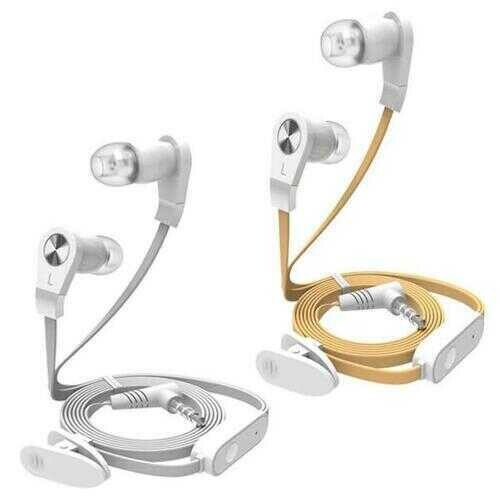 Noodle 6 Headphones - Color: Gold