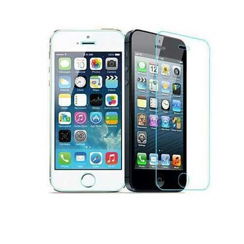 iPhone 4/4s & 5/5s/5c Glass Screen Protector - Style: iPhone 5/5c/5s