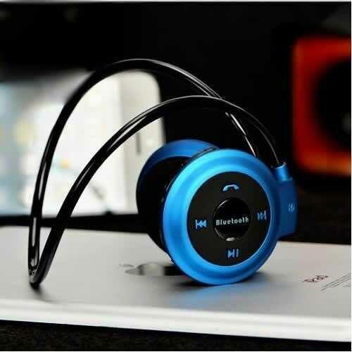 Flex Bluetooth Over the Ear Headphones - Color: Blue