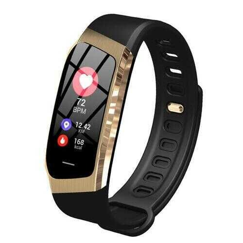 Urban Smart Watch And Wellness Tracker - Color: BLACK-Gold