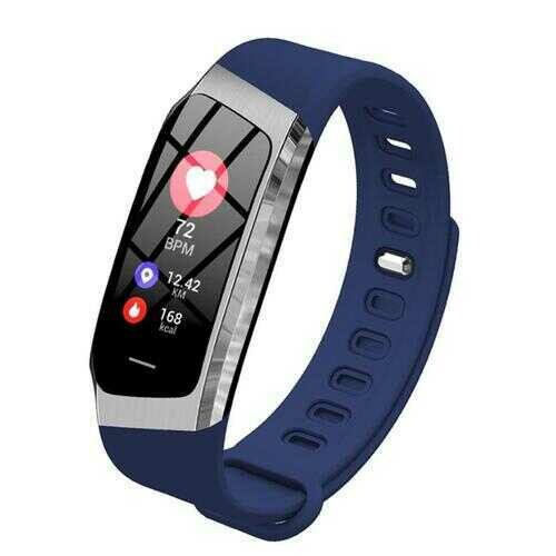 Urban Smart Watch And Wellness Tracker - Color: BLUE-Silver