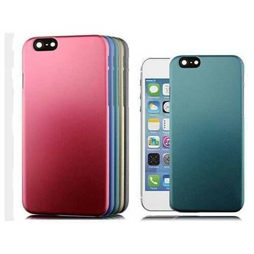 iPHONE 6 Hard Shell Protective Case - Color: Red