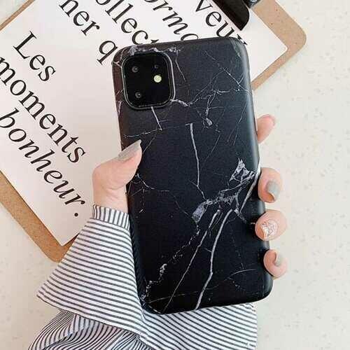 Futura iPhone 11 Case -Color: Black Marble, Size: iPhone 11 Pro Max