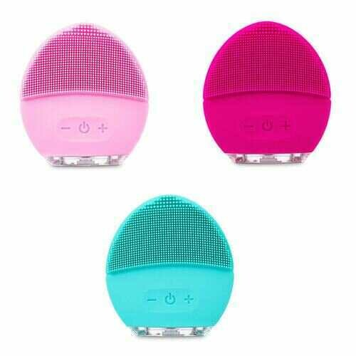 Love Your Skin Again My Sonic Makeup Cleaner And Massager - COLOR: HOT PINK