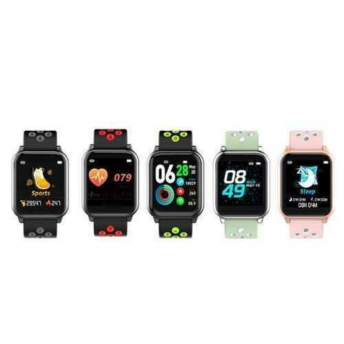 Jog And Log A Smart Watch With Wellness And Activity Tracker - Color: PALE GREEN