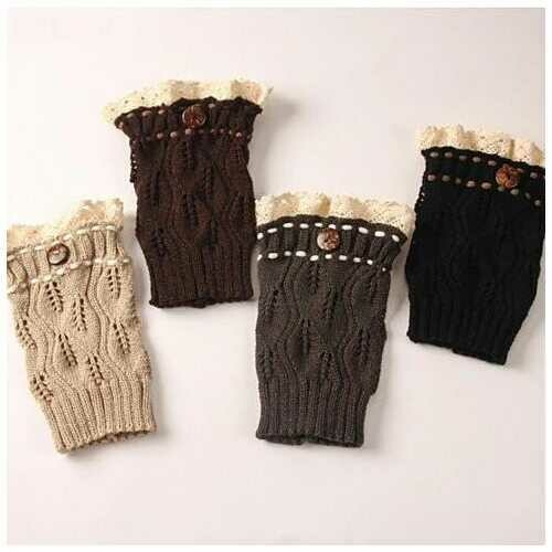 Winter Warmers SuperCute CableKnit Socks - Color: Butterscotch Beige