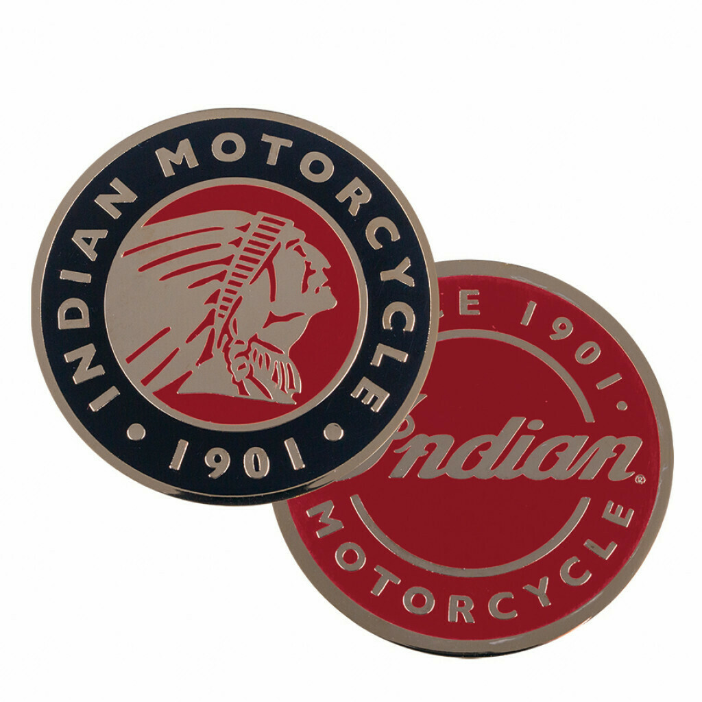 INDIAN MOTORCYCLE ICON MAGNETS  (SET OF 2)