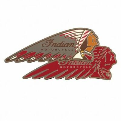 INDIAN MOTORCYCLE HEADDRESS FRIDGE MAGNETS (SET OF 2)