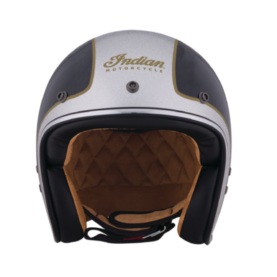 TWO TONE OPEN FACE HELMET