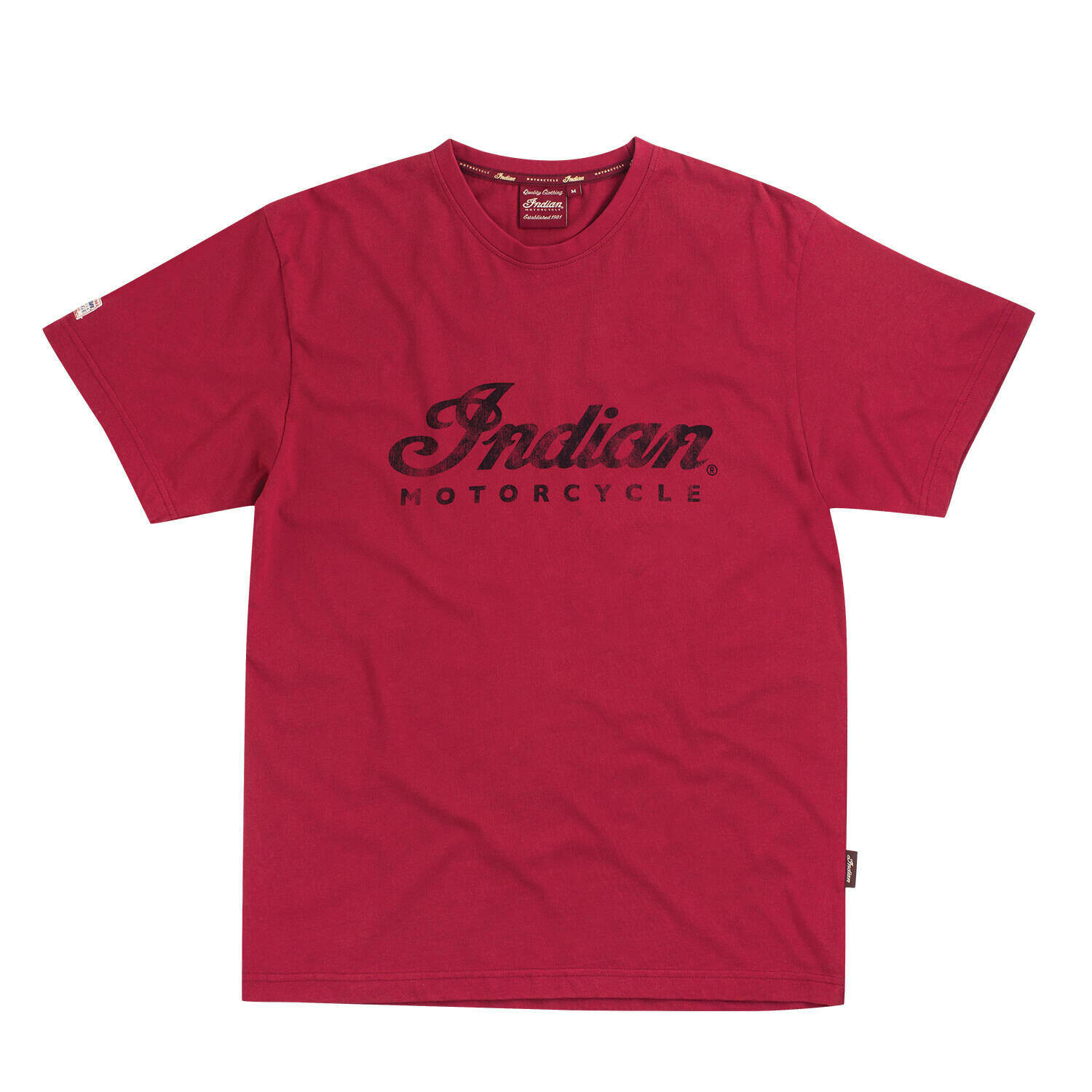 SS RED LOGO TEE MENS