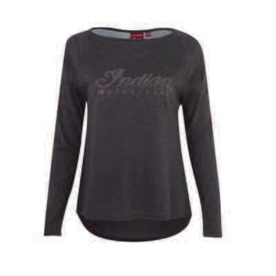 LONG SLEEVE DIAMANTE TEE