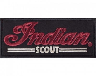 INDIAN SCOUT PATCH BLACK