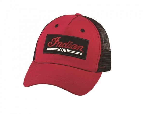 SCOUT TRUCKER HAT RED