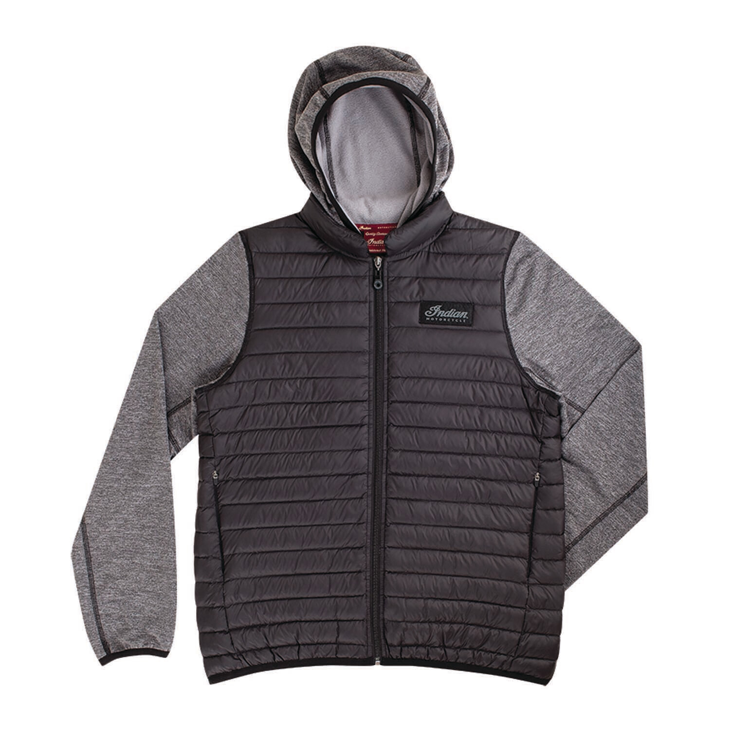 IMC QUILTED HOODIE