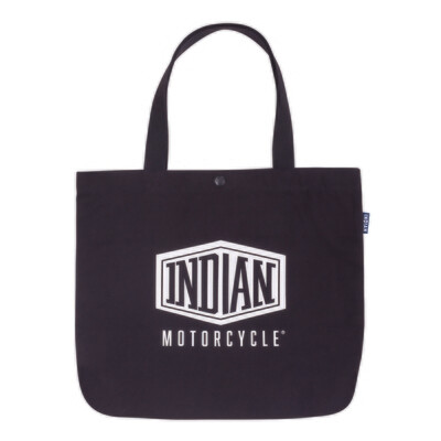 SHIELD LOGO COTTON TOTE