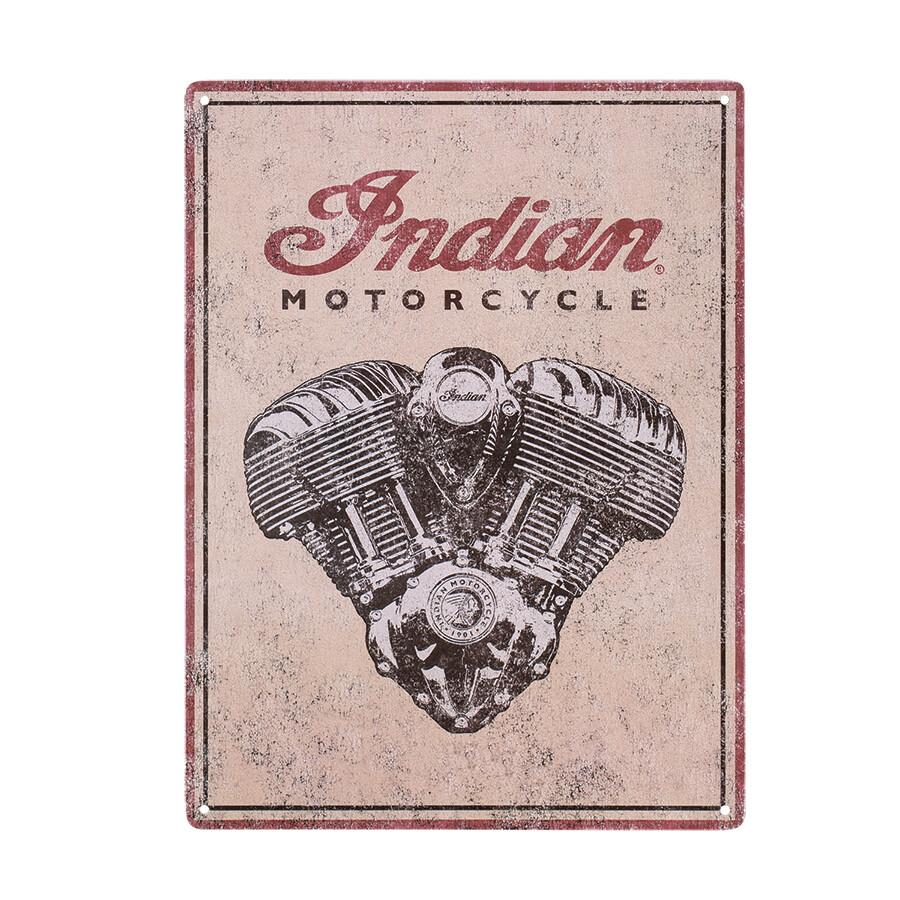 MOTOR METALLSCHILD
