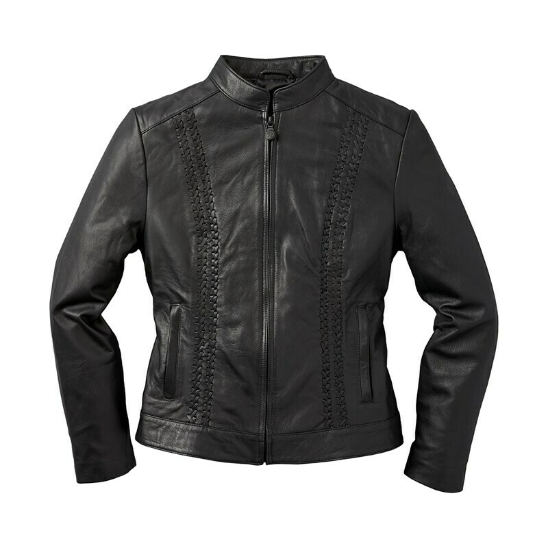 WOMENS CHARLOTTE LEATHER JKT