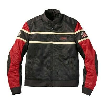 Mens Arlington Mesh Jacket, Black