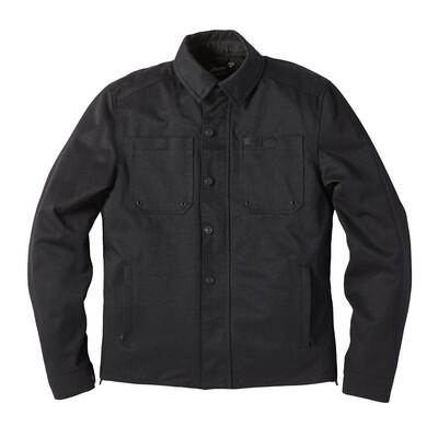 Mens Haydon Textile Jacket, Black