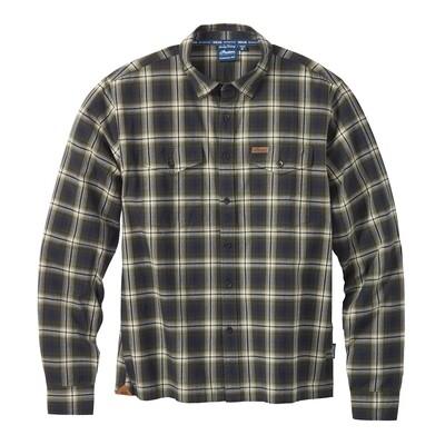 Twin Pocket Plaid Shirt, Navy