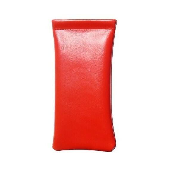 Étui clic clac classique en simili-cuir