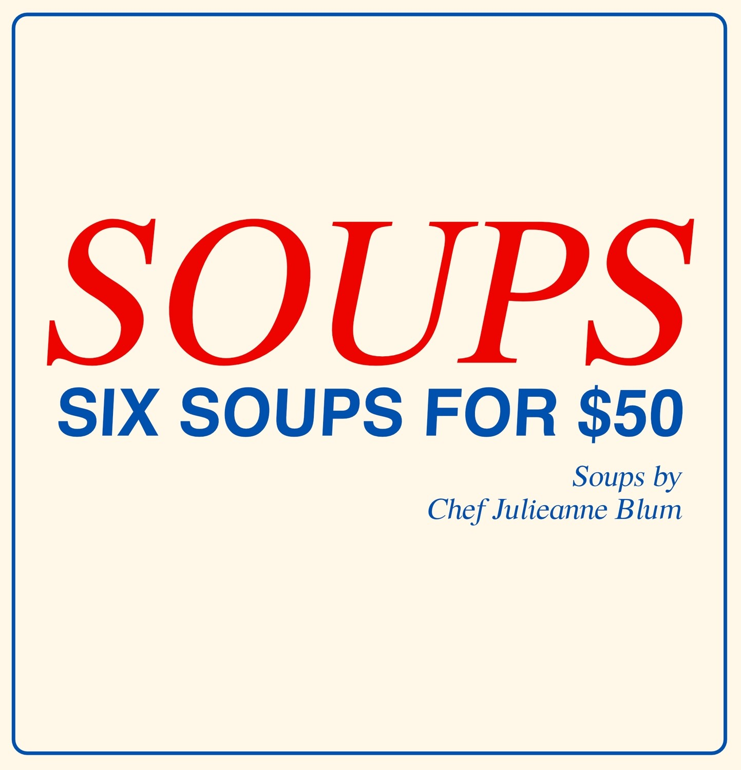 SOUP DELIVERY BOX
