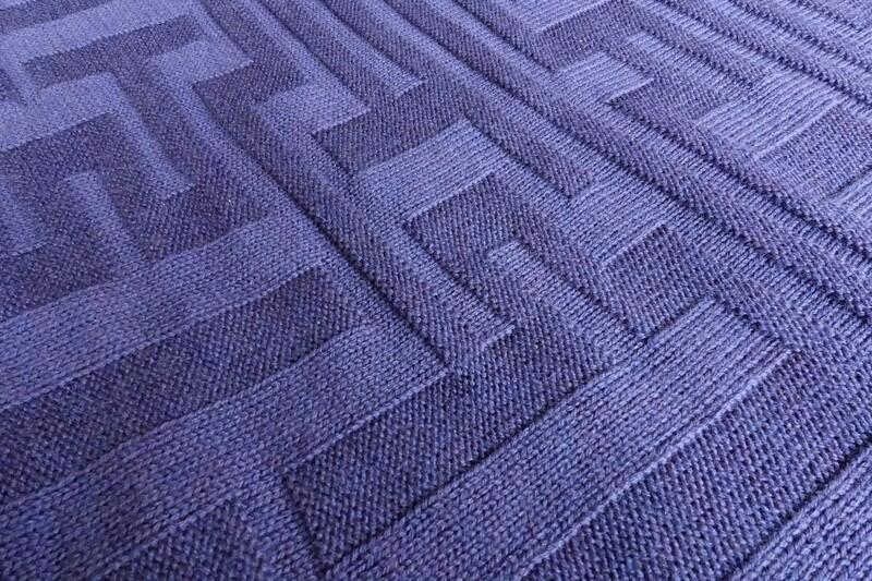 Decke SELENA, violett