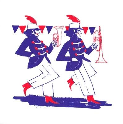 rhythm is a dancer III (16x16cm) FREE SHIPPING