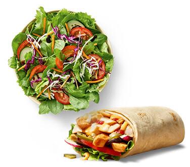 Wraps & Salate (zum mixen)