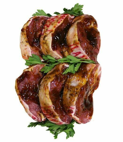 Minty Lamb Steaks 5 x 3oz