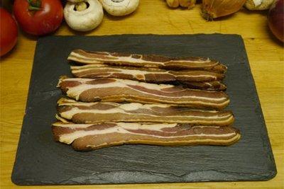 Woburn BLACK Streaky Bacon 200g
