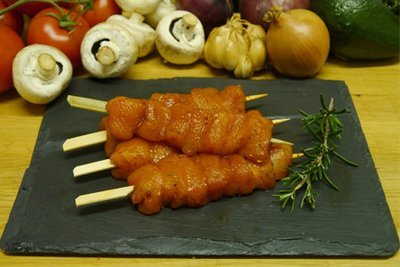 Marinated Chicken Skewers (4 per pack)