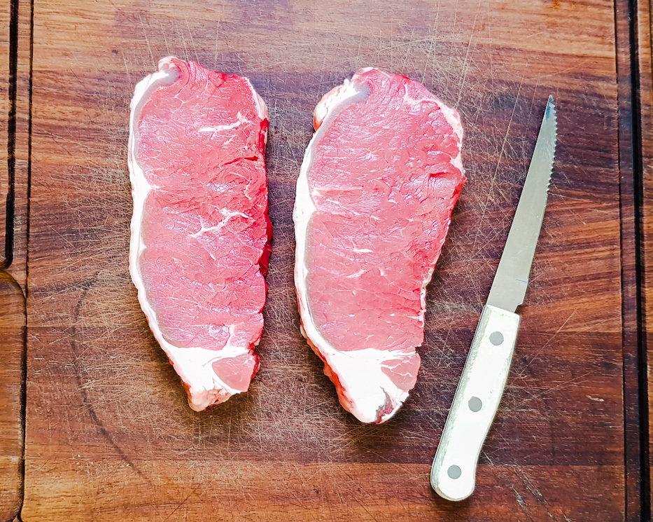 Beef Sirloin Steaks 6oz x 2