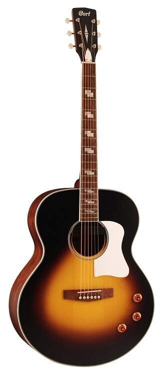 Cort CJRETRO Jumbo Body, Acoustic/Electric