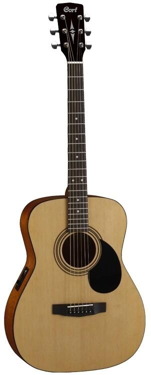 Cort AF510E Acoustic/Electric Guitar, Open Pore