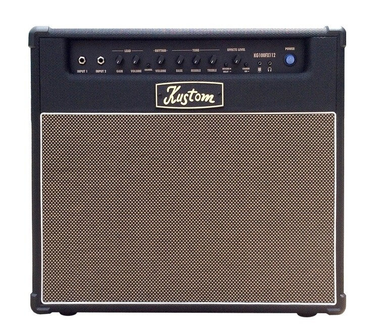 "Kustom KGA100 1 x 12"" 100 Watt Guitar Combo Amplifier"