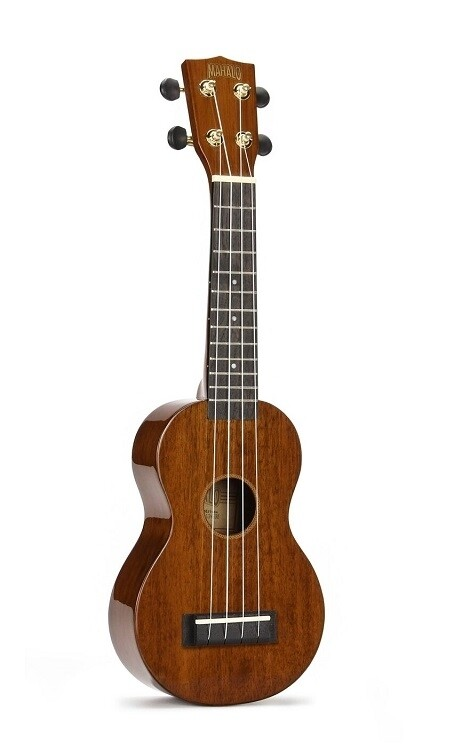 Mahalo Java Series Ukulele, Vintage Natural