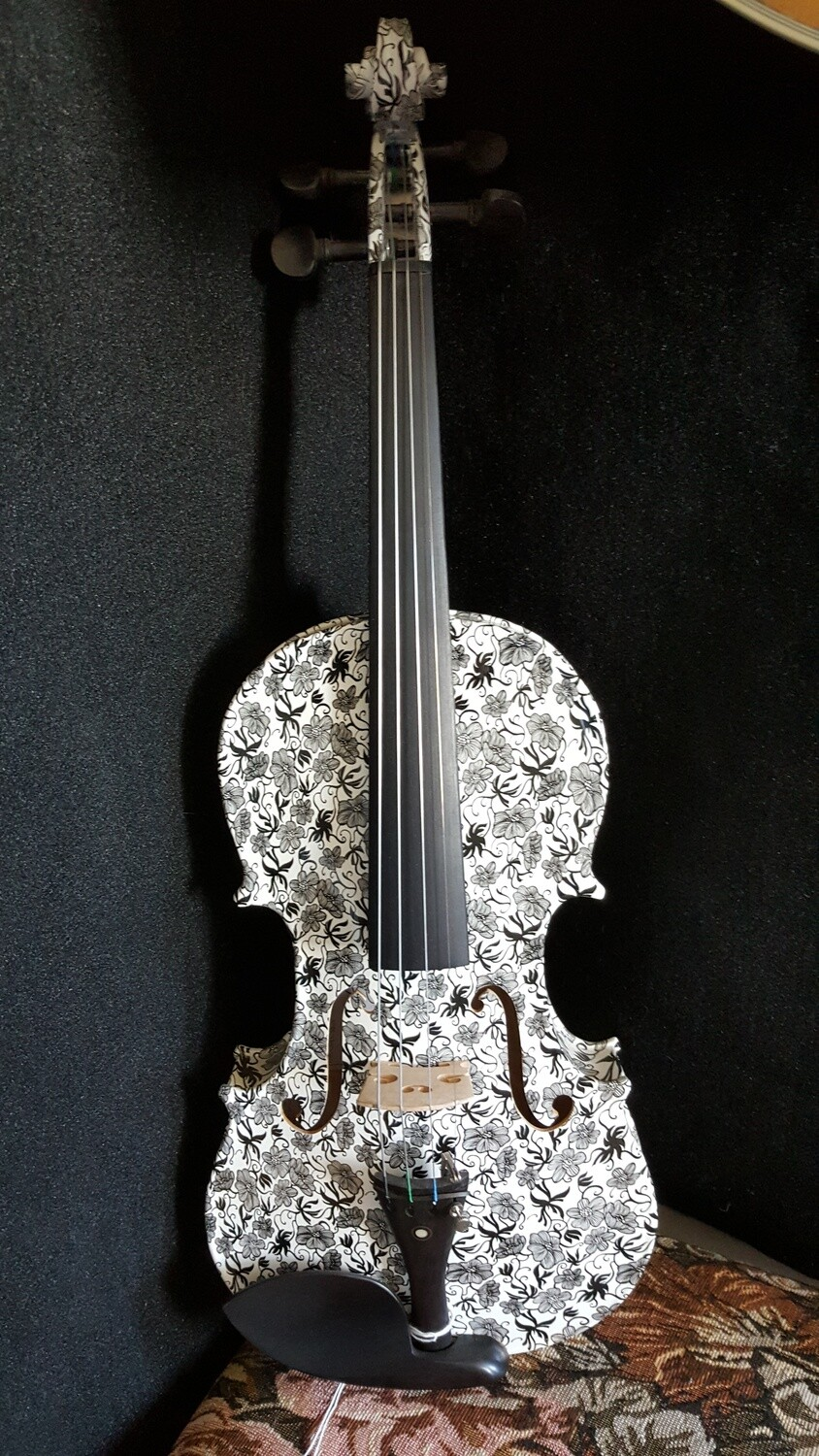 Geneva Dark Meadow Visual Art Violin