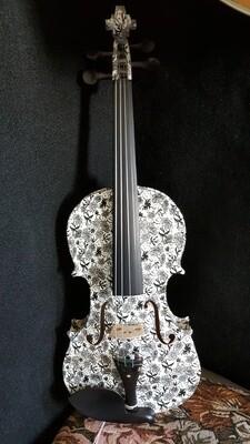 Geneva Dark Meadow Visual Art Violin