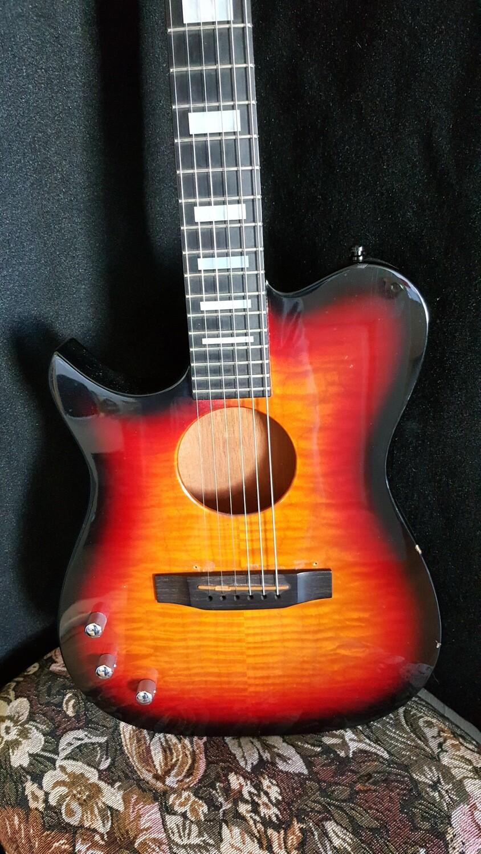 Carvin Thinline Guitar AC275/AC175 LEFTY