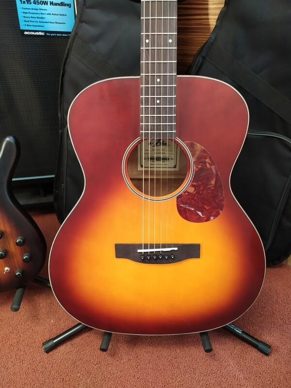 Aria OM Acoustic Guitar