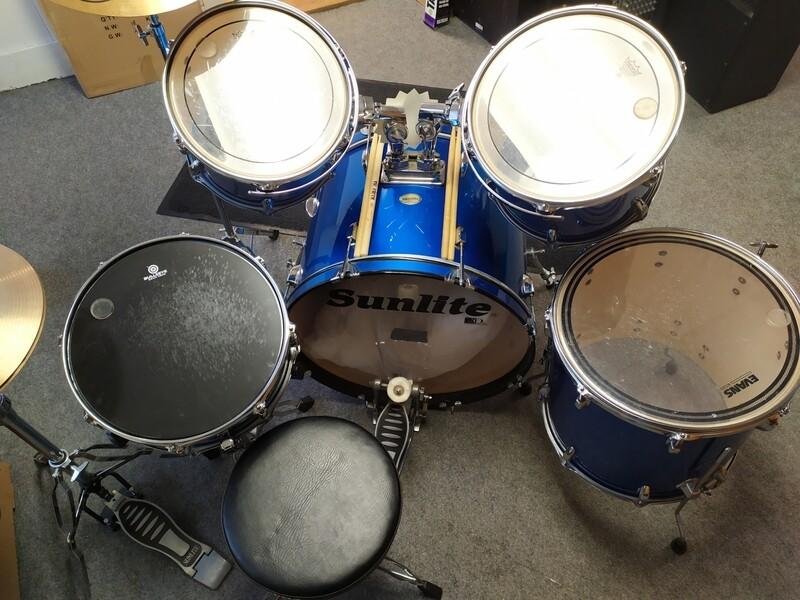Sunlite 20th Anniversary Drum Set