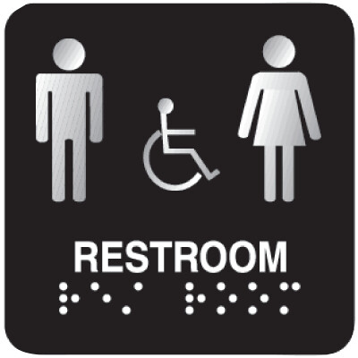 Taxi ADA Braille Signs